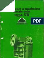Doc Commerciale Concasseurs a Machoires Simple Volet