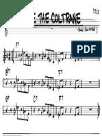 Take the Coltrane