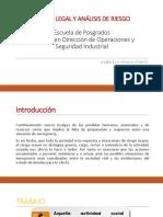 Presentación 1. Marco Legal y Análisis de Riesgo