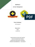 Referat - Airway Management