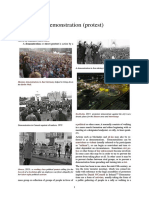 Demonstration (Protest)