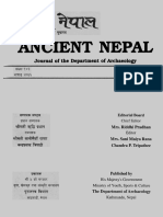ANCIENT NEPAL Journal of the Department of Archaeology