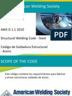 AWS D1.1 Presentación