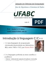 Aula 01 - Introdução à Linguagem C