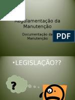 Regulamentação da Manutenção 1.ppt