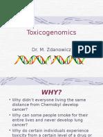 Toxic o Genomics