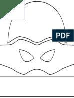 TMNT Mask Template