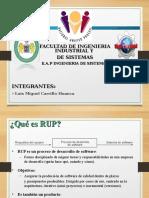 METODOLOGÍA RUP - INGENIERÍA DE SOFTWARE