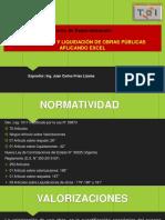 Valoriza y Liquidacion de Obras-tqi Chimbote - Nueva Ley