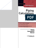Piping Calculations Manual (Front Cover to 300)