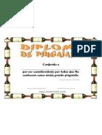 Diploma de Pingaiada 1 Certificado PDF Gratis para imprimir ou baixar