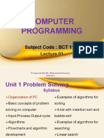 computer programming lecture 1