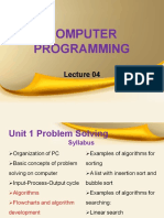 computer programming lecture 4