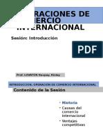 Operaciones de Comercio Internacional - 1era Clase