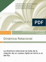 Dinámica rotacional