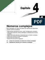 4. Calculo de Nuemros Complejos