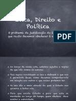 Ética, Direito e Política