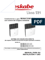 Manual Linea Ttb Miniconvex Rev001