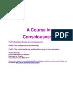 !!!a Course in Consciousness 量子理论观点