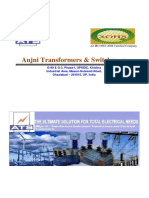 Catalogue Anjni Transformer & Switchgears