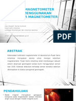 Kalibrasi Magnetometer Tipe 1540 Menggunakan Kalibrator Magnetometer