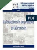 2.5. Automatización de Procesos de Fabricación