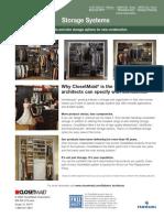 ClosetMaid Architect Brochure