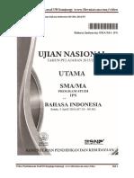 Download Pembahasan Soal Bahasa Indonesia UN SMA 2016 IPS.pdf