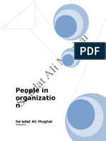 Management-And-Leadership PEOPLE in ORGANIZATION 2011