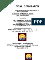 TRAFFIC SIGNAL OPTIMIZATION.docx