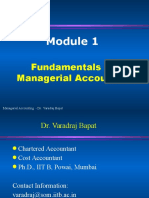 MA 1.1-Fundamentals of Managerial Accounting