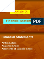 MA 2.1-Financial Statement