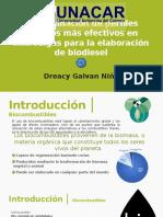PRESENTACIÓN PROTOCOLO DE TESIS Biocombustibles