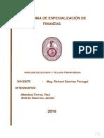 Análisis Financiero GLORIA