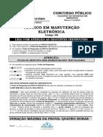 109 - TECNICO EM MANUTEN€AO ELETRONICA
