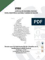Dossier Representación Colombia Smithsonian Folklife Festival