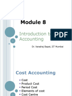 Module 8. Introduction to Cost & Managerial Accounting04.05.2012