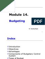 Module 14. Budgeting 11.10 .ppt