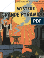 5-Blake and Mortimer - The Mystery of the Great Pyramid Volume 2 the Chamber of Horus, 1955