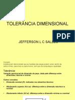 Tolerancia Dimensional AP -1
