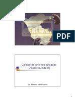 Calidad de uniones soldadas (Discontinuidades).pdf