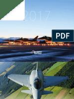 Eurofighter Typhoon Calendar 2017