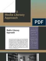 Chapter II Media Literacy Appraoch