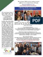 2017 Chicagoans In The Desert Newsletter 1