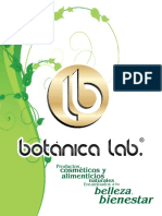 Catálogo de Cremas Botánicas