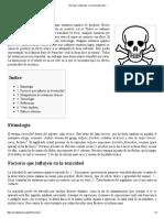 Toxicidad - Wikipedia, La Enciclopedia Libre