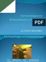 2. Farmacología en Neonatología