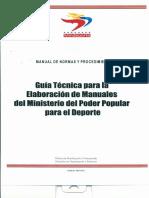 Guía Para Elaborar Manual de normas y procedimientos