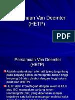 2. Persamaan Van Deemter.ppt