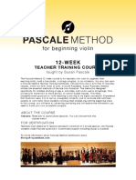 Pascale Method Teacher Training